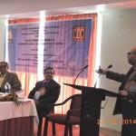 Prof. Prosun Bhattacharya, KTH, Stockholm, Sweden delivering the keynote address.