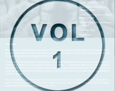 Newsletter Volume 1- January 2014