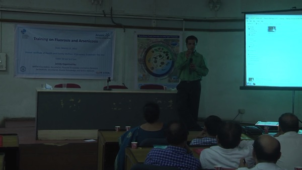 Medical Practitioners' Training on Arsenicosis and Fluorosis