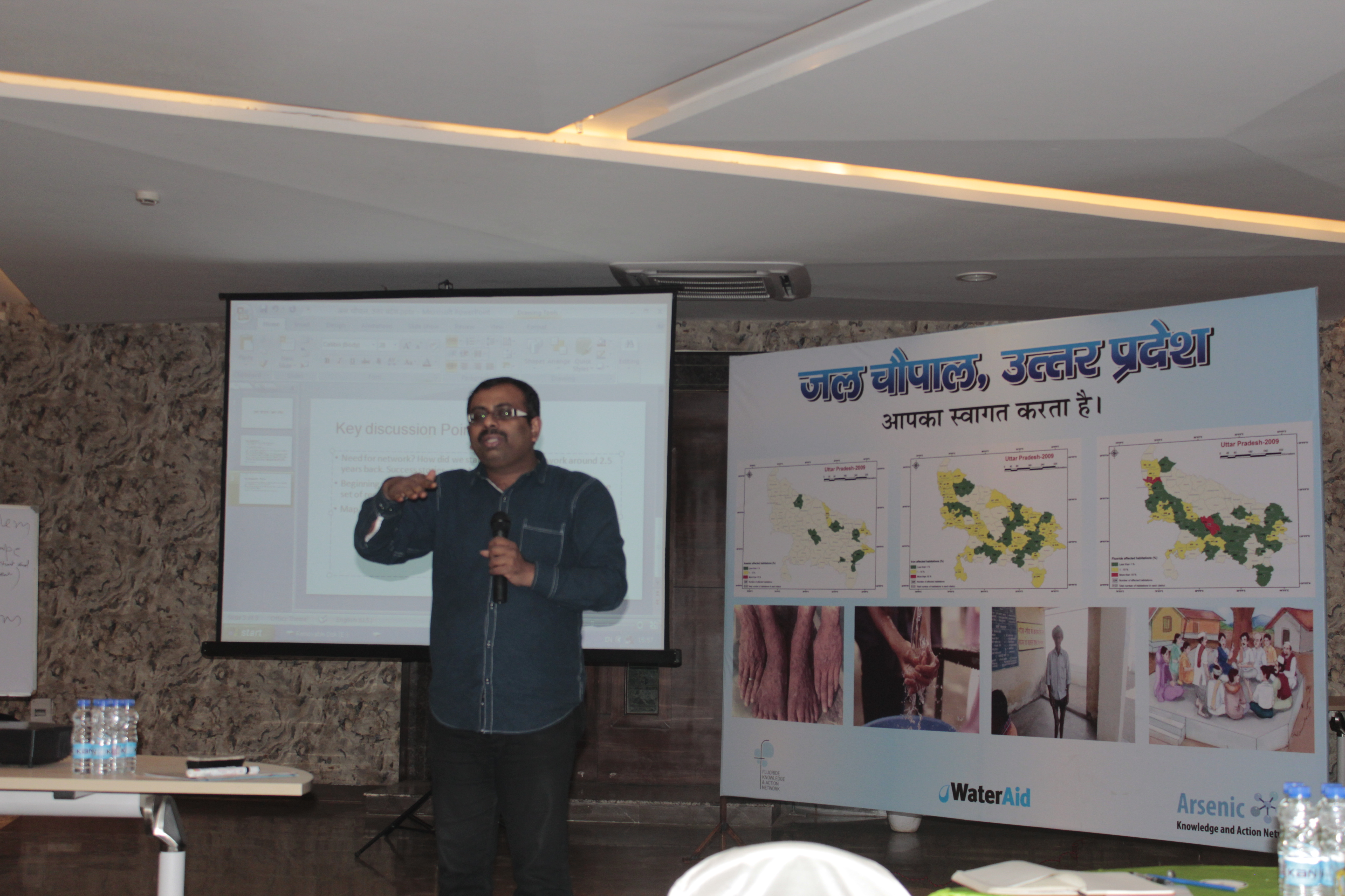 Jal Choupal: Workshop on Drinking Water quality in Lucknow, Uttar Pradesh