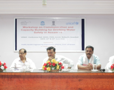 Workshop on Communication and Capacity Building for Drinking Water Safety in Assam