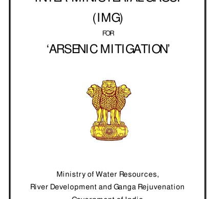 Report of the Inter-Ministerial Group for Arsenic Mitigation