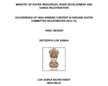 Occurence of High Arsenic Content in Groundwater